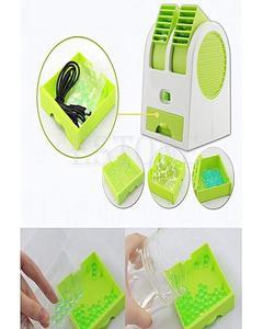 chase me PORTABLE Mini Desktop Air Conditioner USB Fan Cooling Portable Cooler