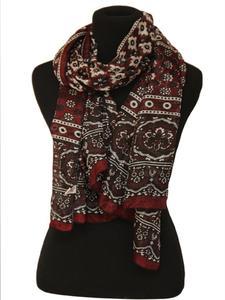 Multicolor Color 100% Cotton Sindhi Ajrak