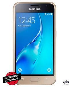 """Galaxy J1 J120F - 4.5"""" - 8GB - 1GB RAM - 5MP Camera - Gold"""