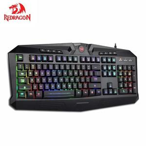 Redragon K503 HARPE Gaming Keyboard RGB Backlit with 12 dedicated Multimedia keys