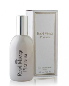 Royal Mirage Platinum For Men 120ml - Eau De Cologne - White