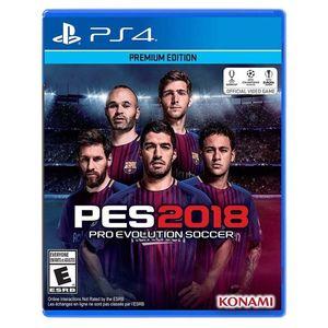 Konami Pro Evolution Soccer 2018 - PlayStation 4