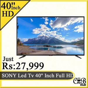 SONY Led Tv 40'' Inch Full HD With Wall Bracket Free