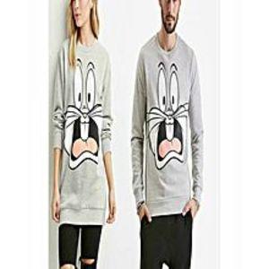 Marhaba MartGrey Printed Sweatshirt Shirt For Men & women