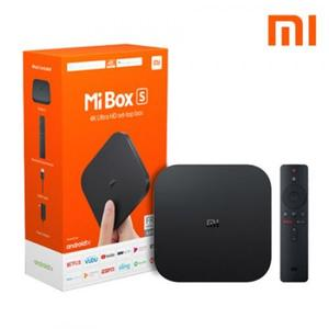 Xiaomi Mi Box S 4K 100% Original Ultra HD Streaming Media Player - Ak Ultra HD - With Free HDMI Cable (NO REPLICA 100% ORIGINAL PRODUCT)