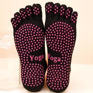MissFortune Women Warm Yoga Gym Non Slip Massage Anti Slip Toe Socks Full Grip Socks Heel