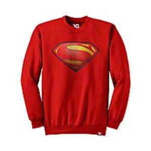 Why GenSuperman - Red Colour - fleece Sweatshirt