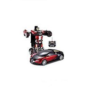 Sawera'sKids Toy Transformer Rc Robot Car Remote Control Car- Red