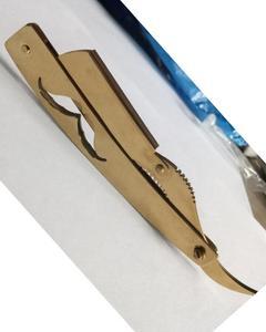 Gold Plated Shaving Razor- Big Blade