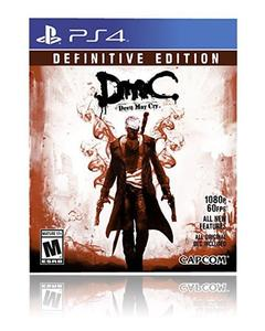 PLAYSTATION 4 DVD DMC DEVIL MAY CRY DEFINITIVE EDITION PS4 GAME