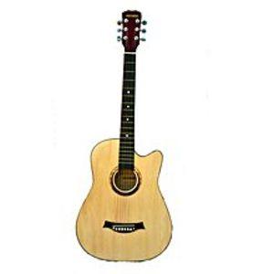 VictoriaSemi acoustic guitar - 39'' - Beige