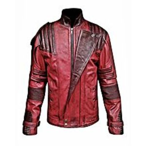 TASHCO Clothing Maroon Leather Jacket