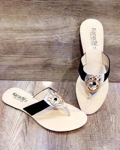 New Stylish fancy slipper black lfw 14