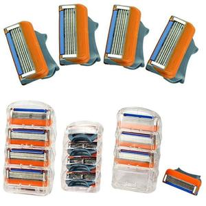 4 Pack Replacement Blades Gillette Fusion Power/ ProGlide Shaving Razor Blades