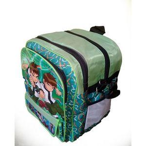 Hafiz Sports parachute green medium Ben 10 school bag