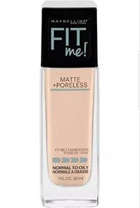 Maybelline New York Fit Me Matte + Poreless Foundation - Nude Beige (30ml)