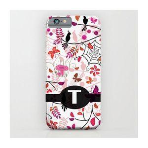 T Alphabet Printed Mobile Cover (Samsung C7)