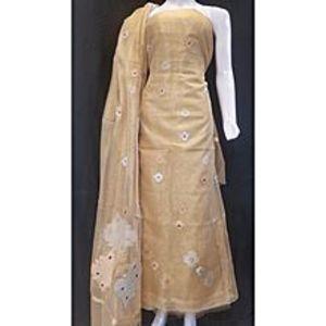 Banaras FashionShirt Dupatta Khadi SP for Women for Women - Golden