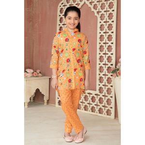 SITARA STUDIO Sapna Collection 2019 Multicolor Lawn 2PC Unstitched Suit For Women - 6145 A  (Un-stitched)