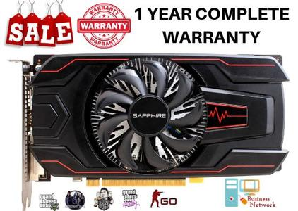 AMD Radeon Pulse RX 560 2G G5 (Better than 750Ti, 760 & 960) (1 Year Complete Warranty)