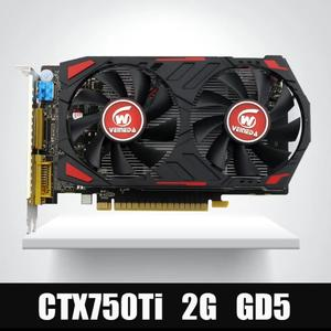 Veineda Video Card Original GPU GTX750Ti 2GB GDDR5 Graphics Cards