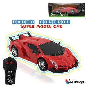 Radio Control Super Model Fast Speed 1:22 Scale Remote Control Red Electric RC Car Toy Best Gifts for Kids 3+ Ages