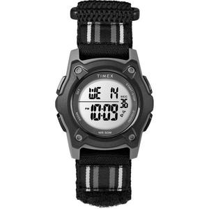 Timex Kids Time Machines Digital 35mm Black Double-Layered Fast Wrap Watch -  TW7C26400