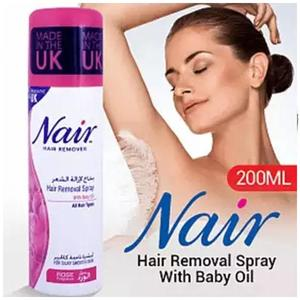 Nair Hair Removal Spray With Baby Oil 200 Ml (Uk)
