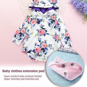 LIVA GIRL - Cute Baby Romper Extend Pad Kids Boys Girls Jumpsuit Lengthen Diaper Mat
