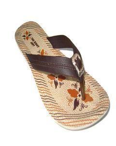 Brown Rexiene Pu Sandal Slipper For Women