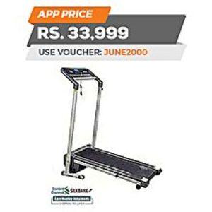 LifeStyleT120 - Motorized Treadmill 3HP - Grey