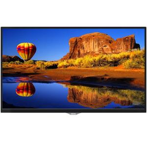 "AKIRA 32MG3013 32"" HD LED TV with Built-in Soundbar & DC Battery Compatibility - Glossy Black"