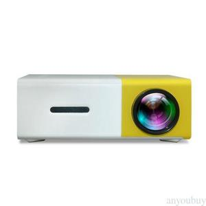 FidgetFidget HD Projector Full HD Ultra Portable And Incredibly Bright Private Theater Yellow
