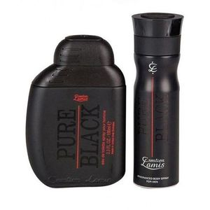 Pack Of 2- Creation Lamis Pure Black Perfume & Deodorant