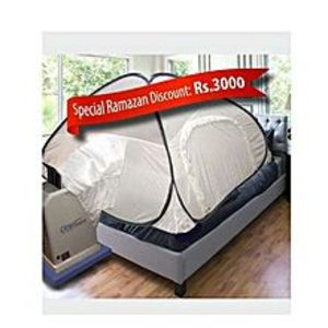 "Close Comfort PC8 - Portable Air Conditioner - Energy-Saver - White ""Pyramid Tent"""