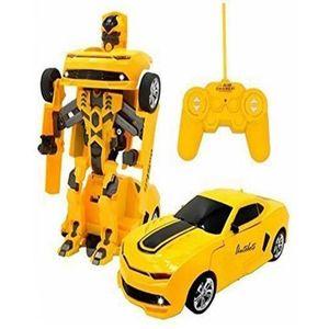 RC Transformer Car Robot - Bumblebee