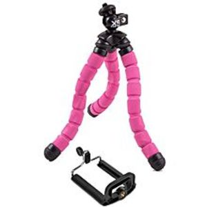 Accessoires Flexible Tripod With Mobile Phone Holder - Pink-Black