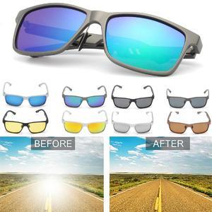 HD Men's Polarized Driving Sunglasses Sports Fashion Eyewear Mirrored Glasses