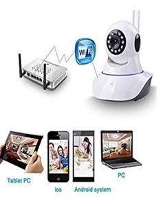 CCTV HD Camera View 360 Angle WIFI Wireless CCTV HD IP Camera Audio And Video Recorder