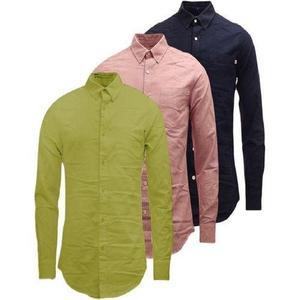 Pack Of 3 : Plain Shirt For Men