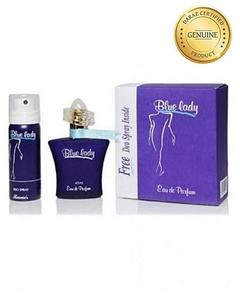 Pack Of 2 - Blue Lady Perfume & Deodorant For Women