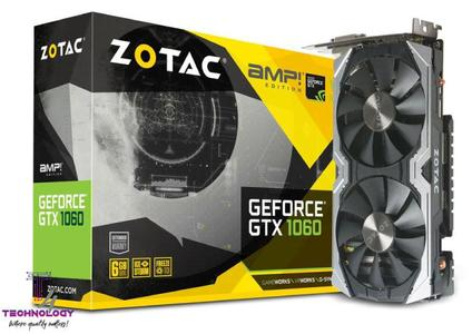 ZOTAC GeForce® GTX 1060 6GB AMP! Edition with Backplate