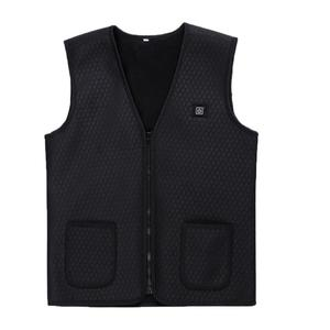 TE USB Infrared Heating Vest Jacket Winter Flexible Electric Thermal Waistcoat