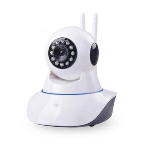 Night Vision 360 Rotation WiFi IP Camera C5 - 1MP - White