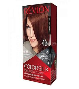 Color Silk 3D Technology Usa For Men & Women-40Ml #31 Dark Auburn