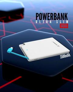 POWER BANK - 3500mVh ULTRA SLIM - WHITE