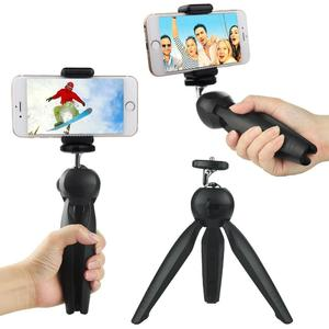 Yunteng YT-228 Mini Tripod Flexible Tripod stand With Phone Holder Clip & Ball head For Phone Digital DSLR Camera Smartphone