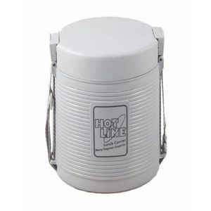 Food Carrier 2 Compartments - Grey