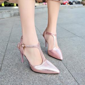 Women's Fashion Pointed Toe High Heels  Women Party Wild  Stiletto Sandals