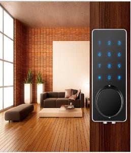 Smart Phone App Door Lock Bluetooth Lock With Touch Screen Password